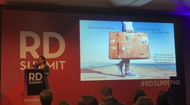 Talia Baruch at the RD Summit 2018