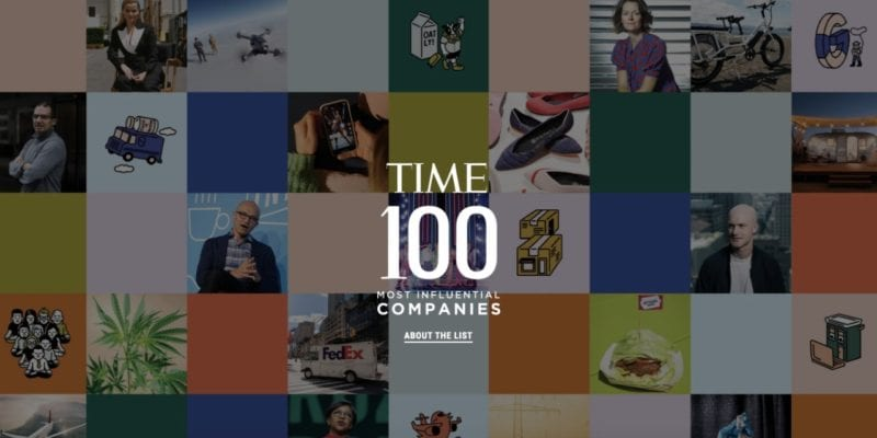 TIME100 most influential companies