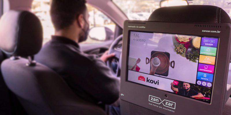 In-car media startup Zanzar receives funding and partners with Kovi